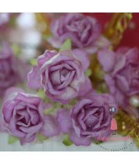 Curly Roses - Lilac