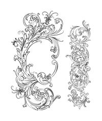 Fabulous Flourishes Stamp