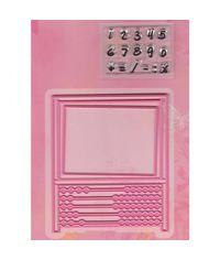 Abacus - Die and Stamp
