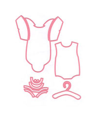 Eline's Baby Onesie - Collectables Die Set