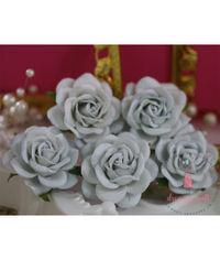 Curved Roses 45 MM - Vintage Blue