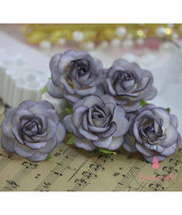 Curved Roses 45 MM - Vintage Lavender
