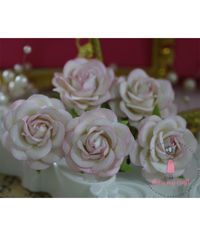 Curved Roses 45 MM - Shaded Pink