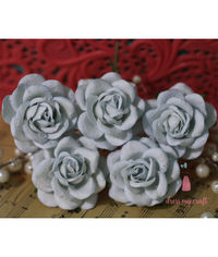 Curved Roses 45MM - Vintage Dull Blue