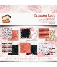 """Crimson Love 6""""x6"""", 36/pkg"""