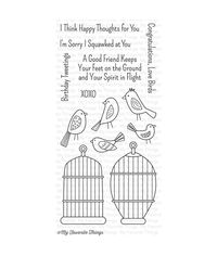 Tweet Friends - Stamp