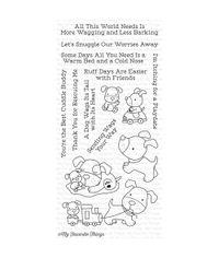 Playful Pups - Stamp