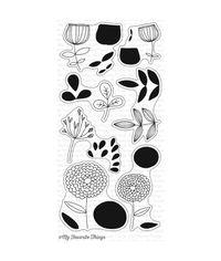 Sketchy Flowers  - Stamp