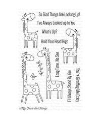 Giraffing Me Crazy - Stamp