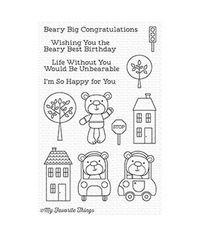 Town Bear - Stamp