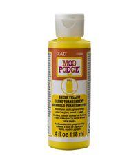 Yellow - Mod Podge Sheer Color 4oz