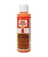 Orange - Mod Podge Sheer Color 4oz