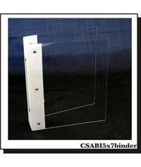 5 x 7 Acrylic Binder