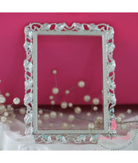 Curved Silver Frame - Small