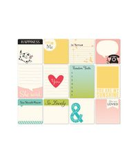 Girl Talk -Memory Cards 12/Pkg