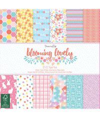 "Blooming Lovely - 12""X12"" Paper Pad"