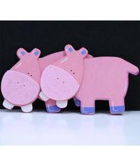 Hippo - Wooden Animal