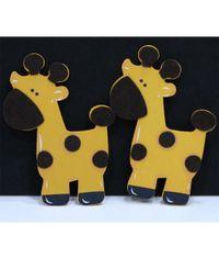 Giraffe - Wooden Animal