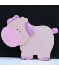 Pig - Wooden Animal