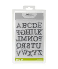 "Uppercase Alphabet .5""X1"" To 1.5""X1"" - Die"