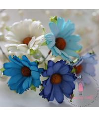 Daisy Flower - Blue Combo