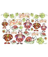 Ladybirds - Decoupage Rice Paper