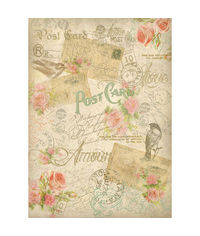 Postcards-Decoupage Rice Paper