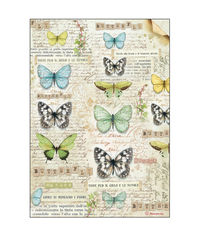 Butterfly-Decoupage Rice Paper