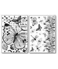 Butterflies - Transfer Paper A4 size B/W