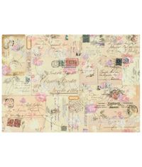 Old Envelopes with Stamps - Easy Paper