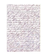 Ancient Paper with Purple Writings - Easy Paper