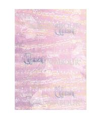 Musical Score and Writings on Purple Background - Easy Paper