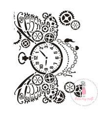 Steampunk - Stencil