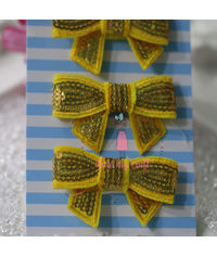 Sparkling Bow - Yellow