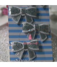 Sparkling Bow - White