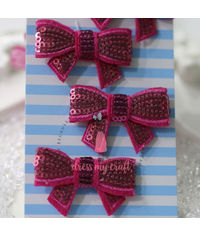 Sparkling Bow - Pink