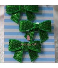 Sparkling Bow - Green