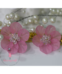 Small 3D Fairy Flowers - Pink