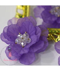 Big 3D Fairy Flowers - Mauve