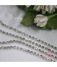 Diamond Chain - Silver