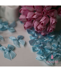 Ribbons Bow - Baby Blue