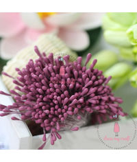 Pastel Thread Pollen - Pinkish Maroon