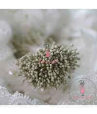 Pastel Thread Pollen - Creamish Green