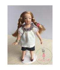 Miniature Marie Doll