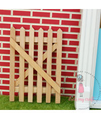 Miniature Wooden Fence