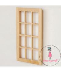 Miniature Anywhere Wooden Window
