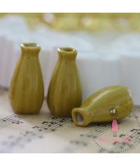 Miniature Yellow Big Vase