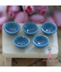 Miniature Blue Bowl Set