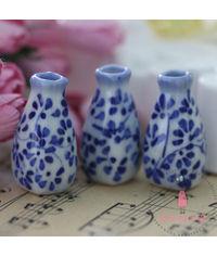 Miniature Hand Printed Vase