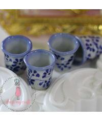 Miniature Hand Printed Vase 2